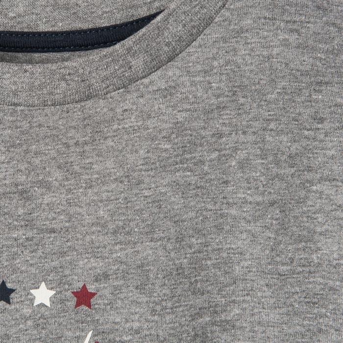 Image T-shirt maniche lunghe automobile 3-12 anni La Redoute Collections