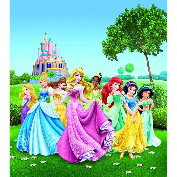 Papier Peint Xl Chateau Au Printemps Princesse Disney 180x202 Cm