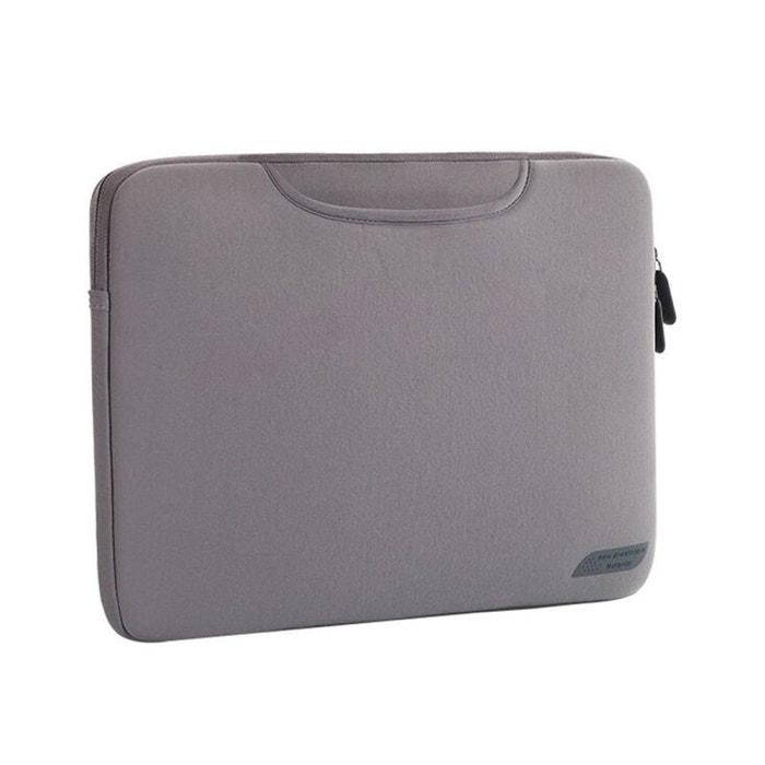 995caae73f Sacoche pc 15.4 pouces housse ordinateur portable macbook etanche gris gris  Yonis | La Redoute