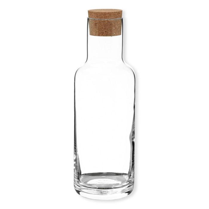 carafe avec bouchon en li ge 1 2l sublime transparent bruno evrard la redoute. Black Bedroom Furniture Sets. Home Design Ideas