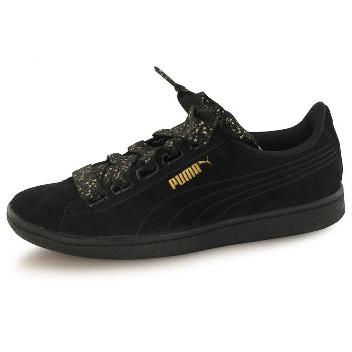 6504892e78c Baskets vikky ribbon dots noir Puma