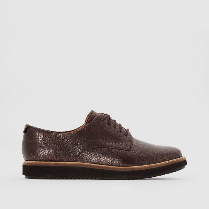 фото Ботинки-дерби кожаные, GLICK DARBY CLARKS