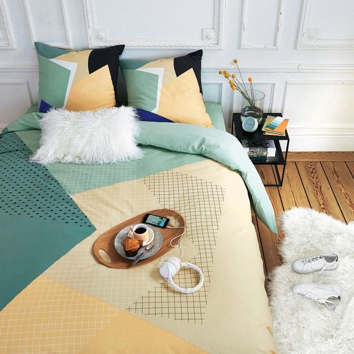 Image Housse de couette, pur coton, Carlen La Redoute Interieurs