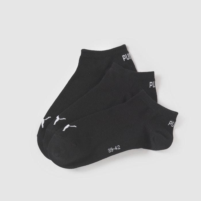 Image Pack of 3 Pairs of Trainer Socks PUMA