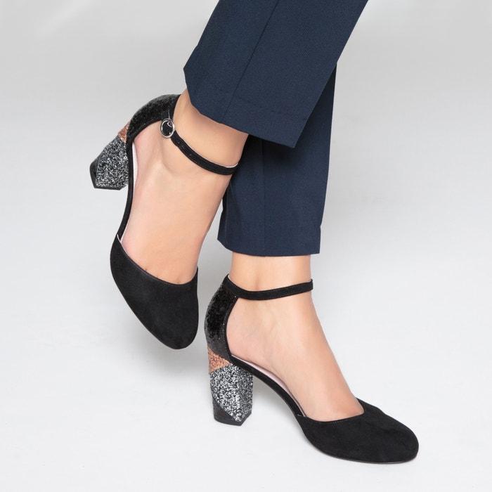 фото Туфли на оригинальном каблуке MADEMOISELLE R