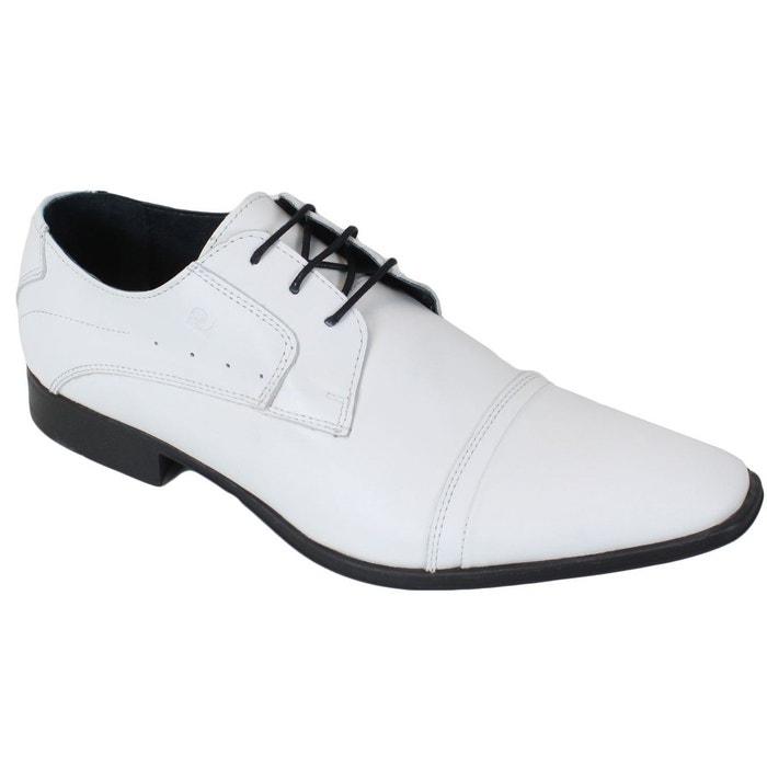 Chaussures pierre cardin en cuir biro blanc Pierre Cardin