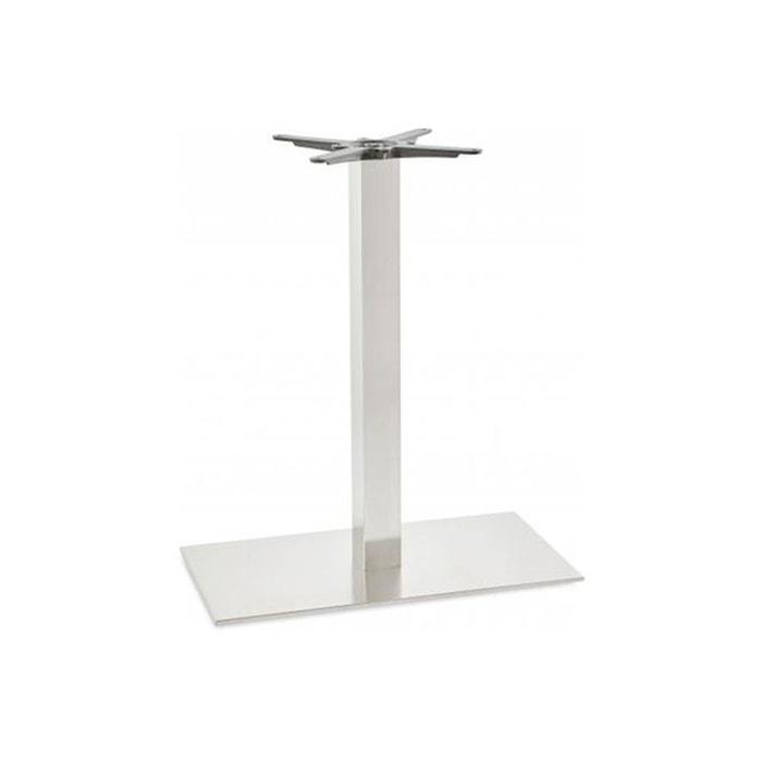 pied de table inox 40x75x90 cm acier inoxydable kokoon design la redoute. Black Bedroom Furniture Sets. Home Design Ideas