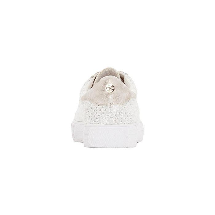 Baskets caly blanc Le Temps Des Cerises