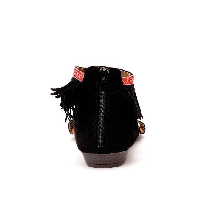 Sandale noir Refresh