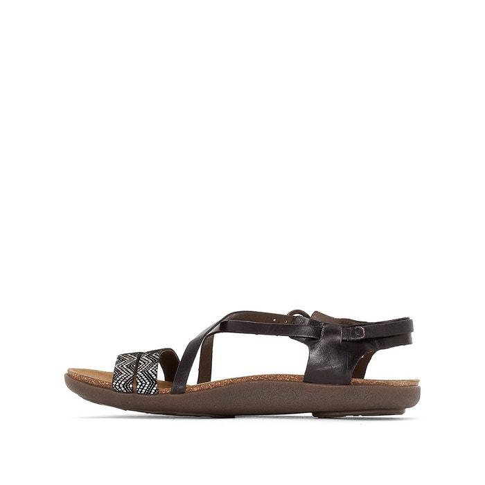 Sandales cuir atomium Kickers