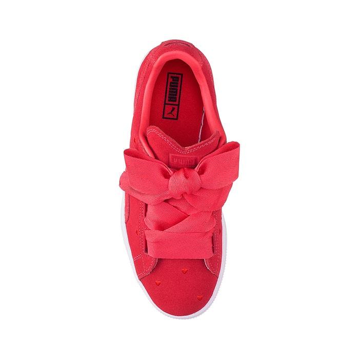 Sneakers Jr Suede Heart Valentine