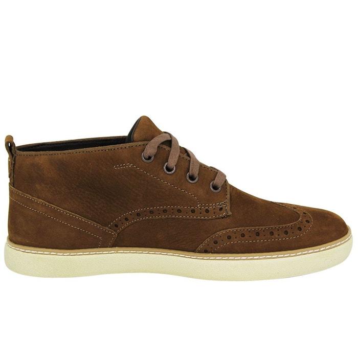 Timberland earthkeepers hudston brogue chukka chaussures de ville homme cuir marron Timberland