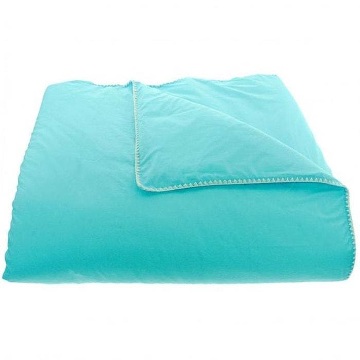 housse de couette venise turquoise blanc turquoise blanc sensei la redoute. Black Bedroom Furniture Sets. Home Design Ideas