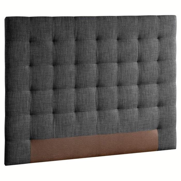 t te de lit capitonn e selve h120 cm am pm la redoute. Black Bedroom Furniture Sets. Home Design Ideas