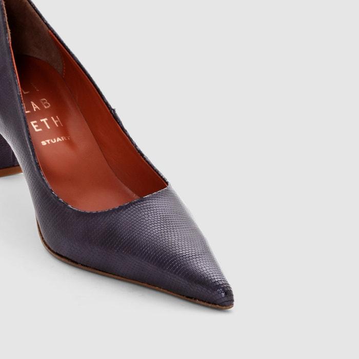 243;n KENT ELIZABETH STUART STUART piel de ELIZABETH tac Zapatos con 6ZOCqW47w
