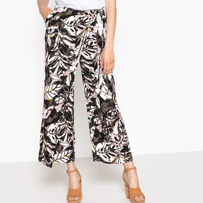 Pantaloni con teli 7/8 fantasia  La Redoute Collections image 0