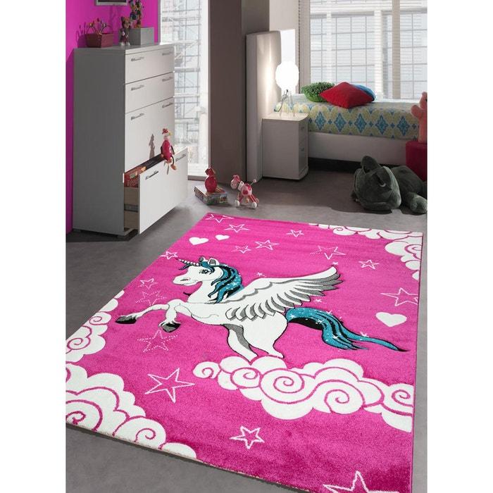 tapis chambre fille kids licorne tapis enfants par unamourdetapis rose un amour de tapis la. Black Bedroom Furniture Sets. Home Design Ideas