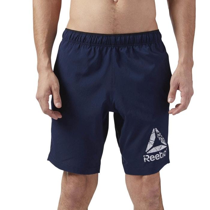 Short workout bleu Reebok Sport