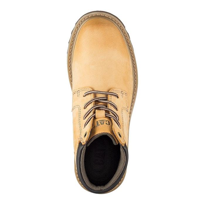 Boots cuir doubleday miel Caterpillar