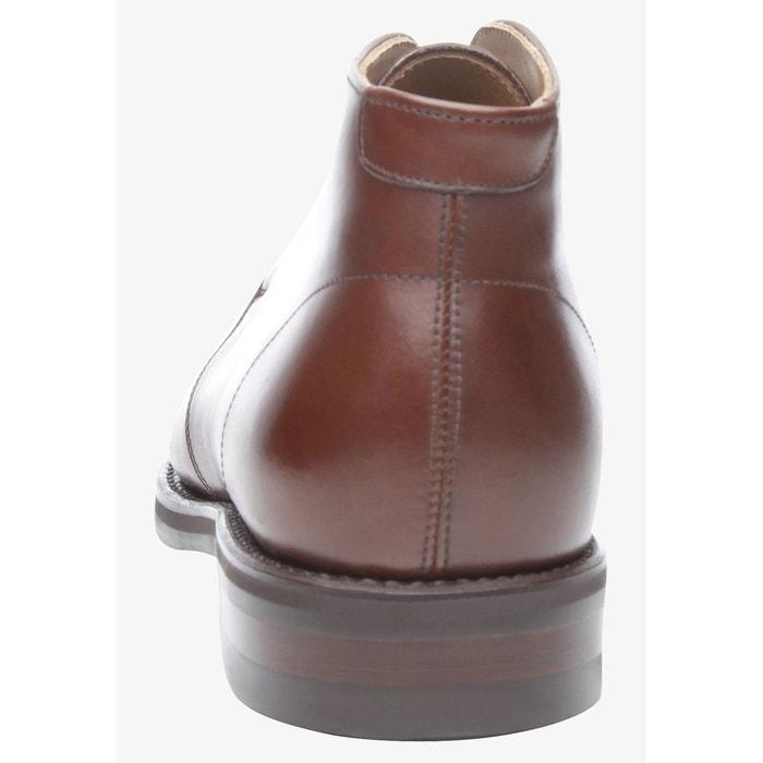 Sneaker italian calf en marron marron foncé Shoepassion