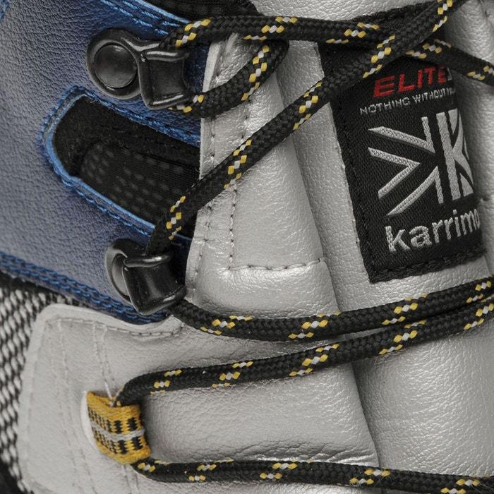Bottes de marche imperméables randonné bleu Karrimor