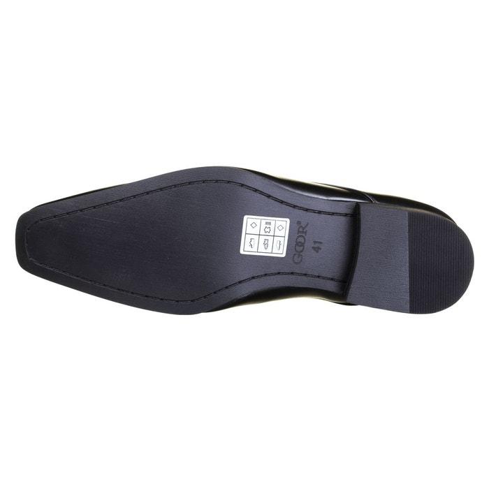 Chaussure derbie à lacets noir Goor