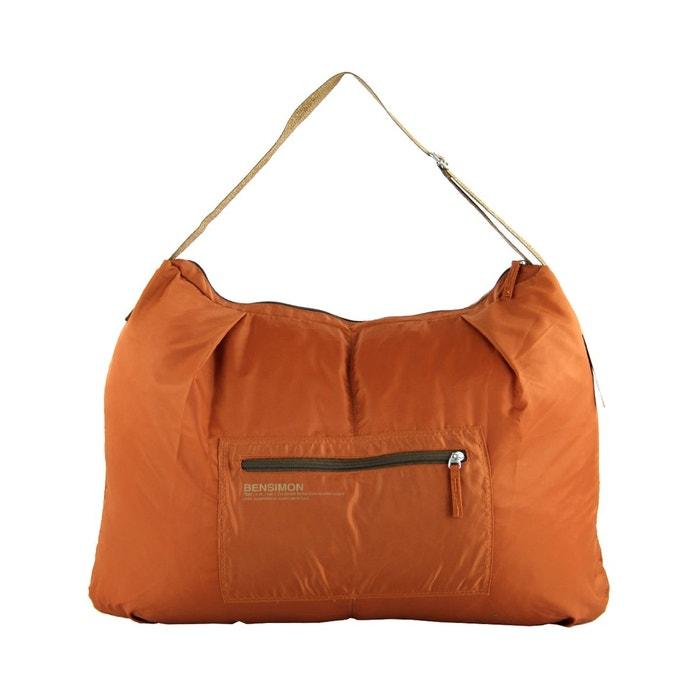 sac bandouli re shoulder bag l 60 cm ocre bensimon la. Black Bedroom Furniture Sets. Home Design Ideas