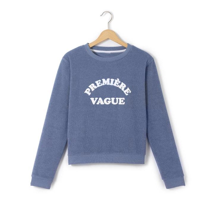 """afbeelding Sweater """"première vague"""" 10-16 jr La Redoute Collections"""