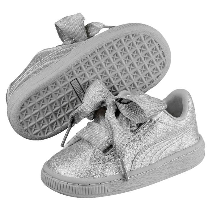 La Basket Heart Holiday Enfant Ttfqzwr Puma Glamour Fille Chaussure Pour srChtdxQ