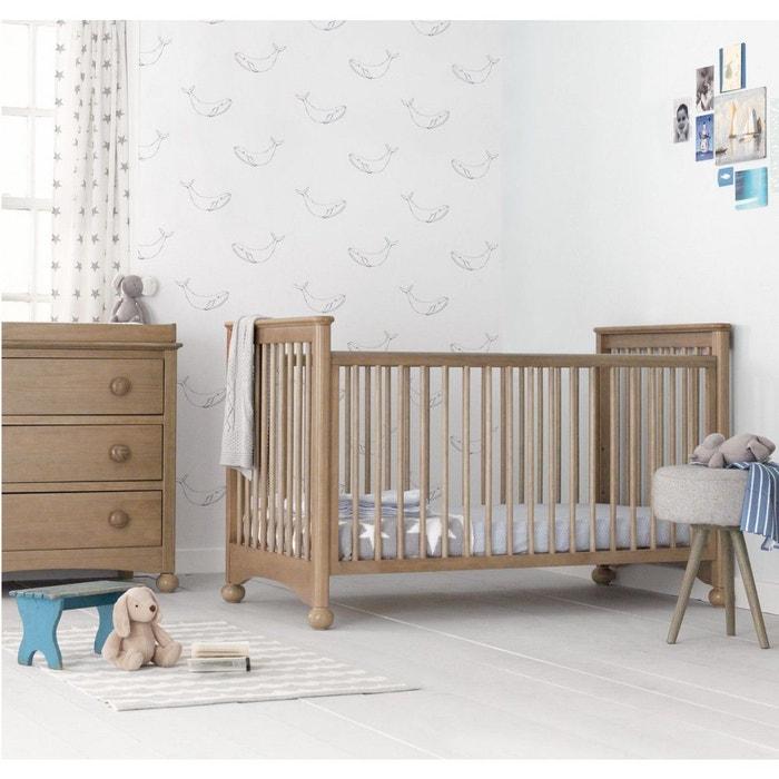 lit b b volutif classique naturel 70x140 terre de nuit bois naturel terre de nuit la redoute. Black Bedroom Furniture Sets. Home Design Ideas