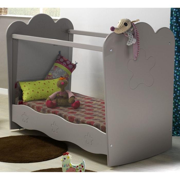 Lit bébé plexi lin 60x120 lin Alfred Et Compagnie | La Redoute
