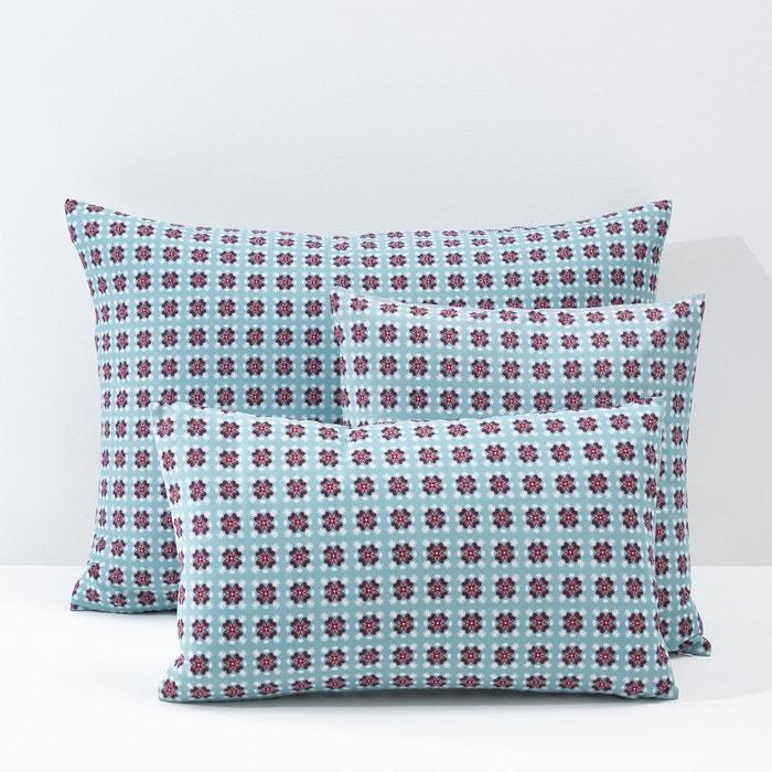 Imagen de Funda para cojín o almohada de percal y algodón Amélia La Redoute Interieurs