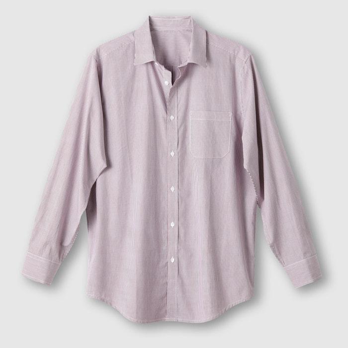 Poplin Shirt, Length 3 (Height over 1.87m)  CASTALUNA FOR MEN image 0