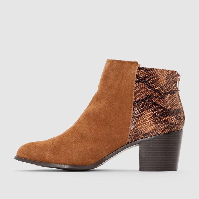 ... Boots croûte de cuir CASTALUNA (4) ...