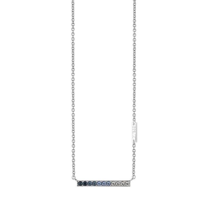 Collier métal cristal bleu Guess | La Redoute Acheter Le Meilleur Endroit Pas Cher Livraison Gratuite Bon Marché yRb4yT51qy
