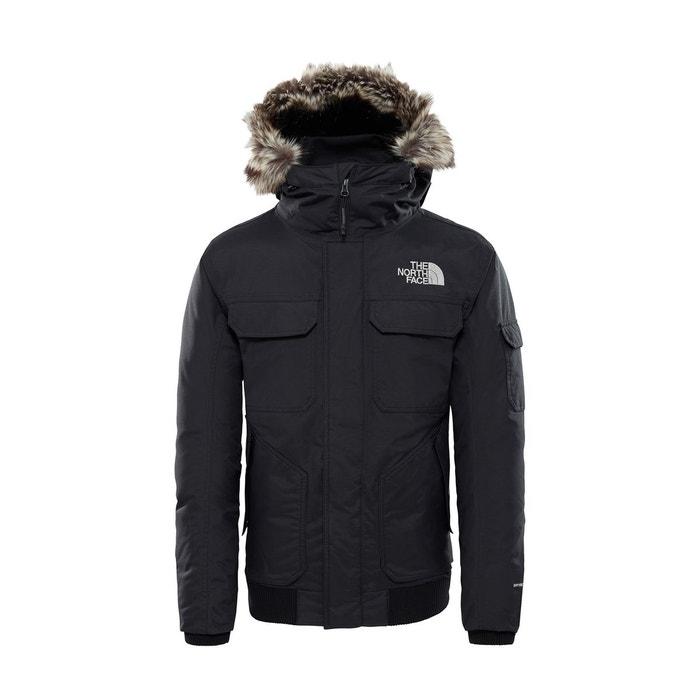 429d3a2a10 Blouson zippé à capuche, gotham jacket 3 noir The North Face   La Redoute