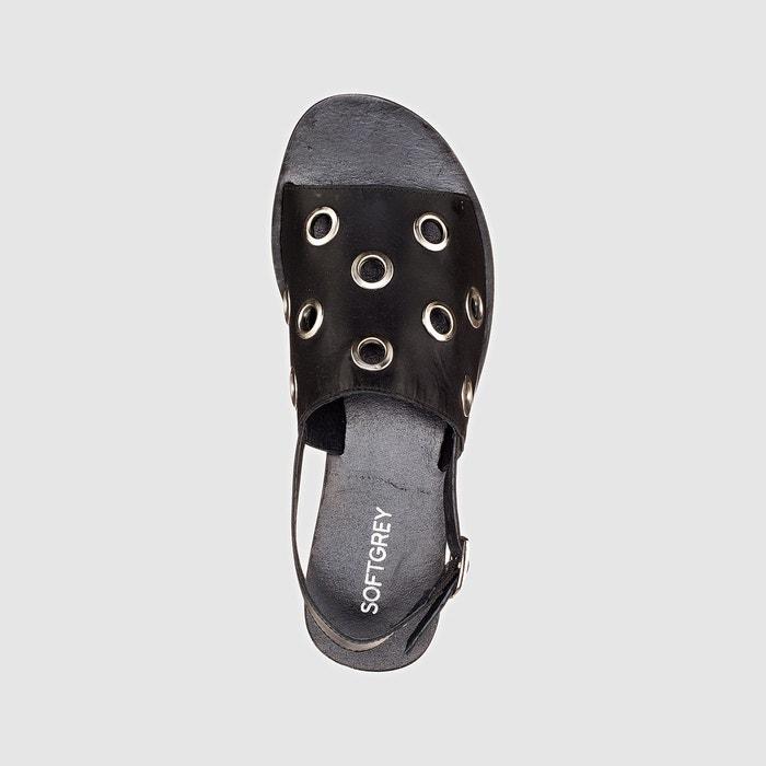 Sandales noir La Redoute Collections