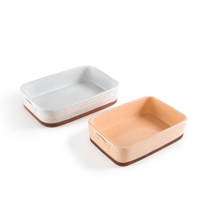 Feria Terracotta Dishes (Set of 2)  La Redoute Interieurs image 0