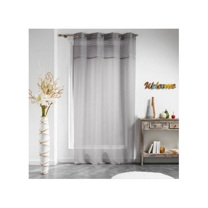 voilage uni top ray sur voile sabl home maison la redoute. Black Bedroom Furniture Sets. Home Design Ideas