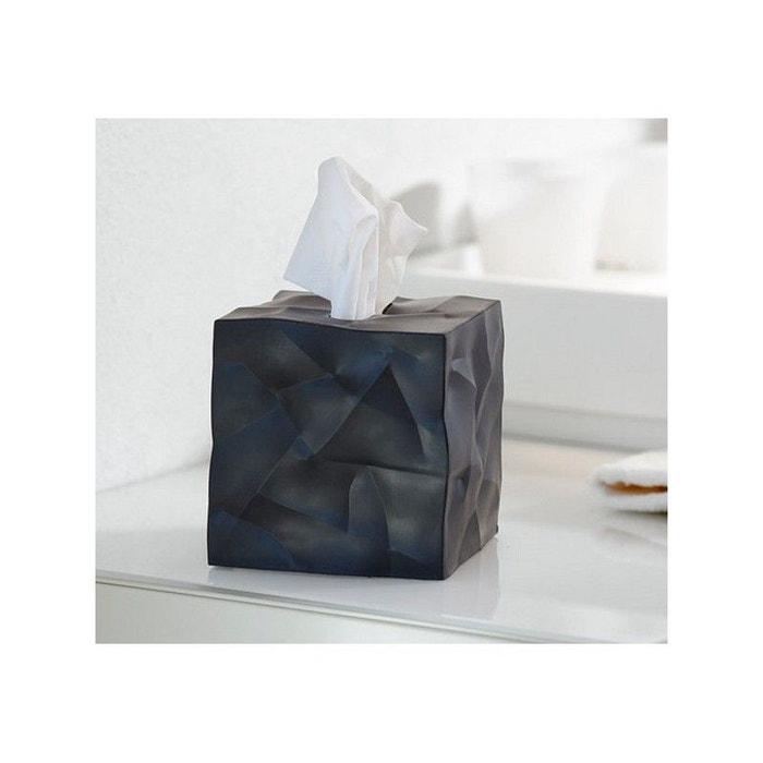 bo te mouchoirs carr e design noire wipy essey noir essey la redoute. Black Bedroom Furniture Sets. Home Design Ideas