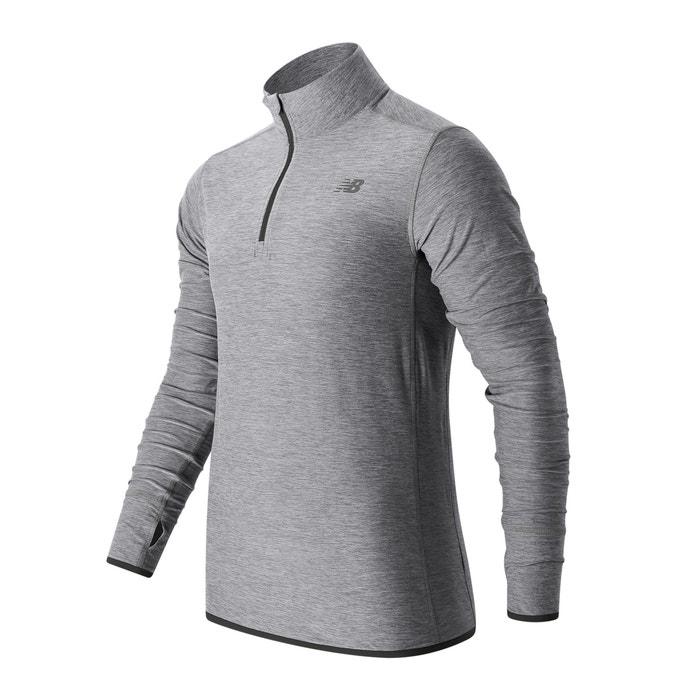 High Neck Zip-Up Sweatshirt  NEW BALANCE image 0