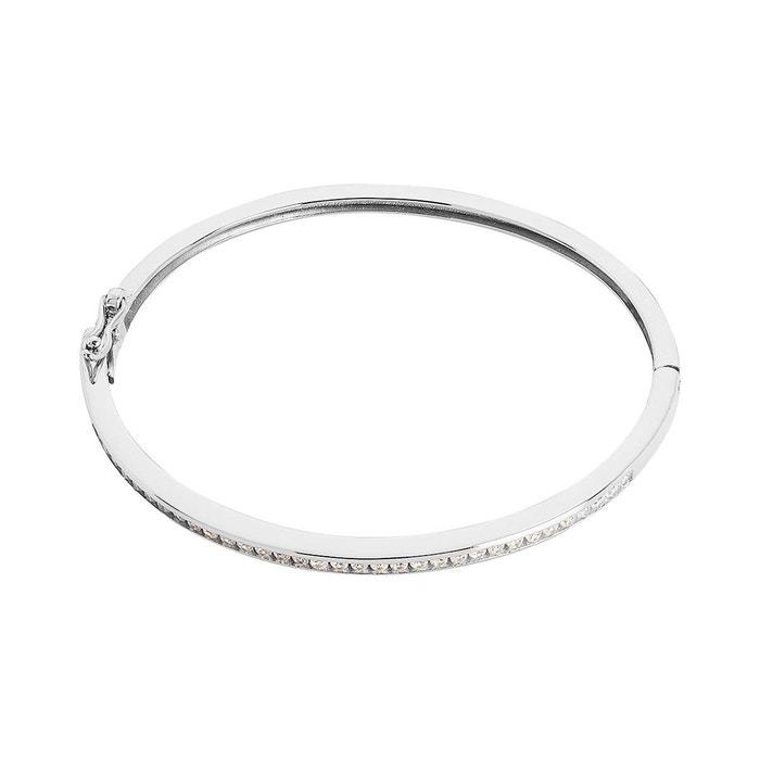 Remises Vente En Ligne Réduction Authentique Sortie Bracelet argent 925/1000 oxyde blanc Cleor   La Redoute Moins Cher PpJlaz