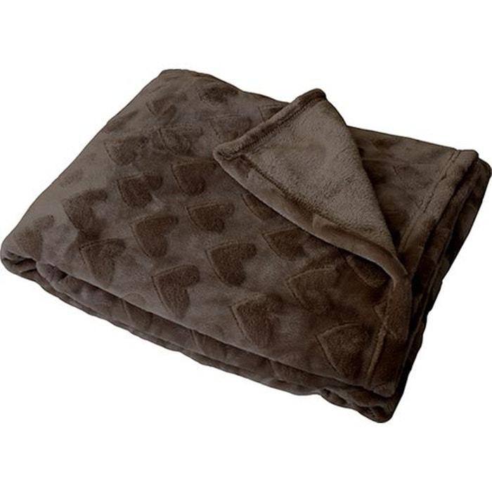 plaid en flanelle imprim s coeurs tons sur tons home maison la redoute. Black Bedroom Furniture Sets. Home Design Ideas
