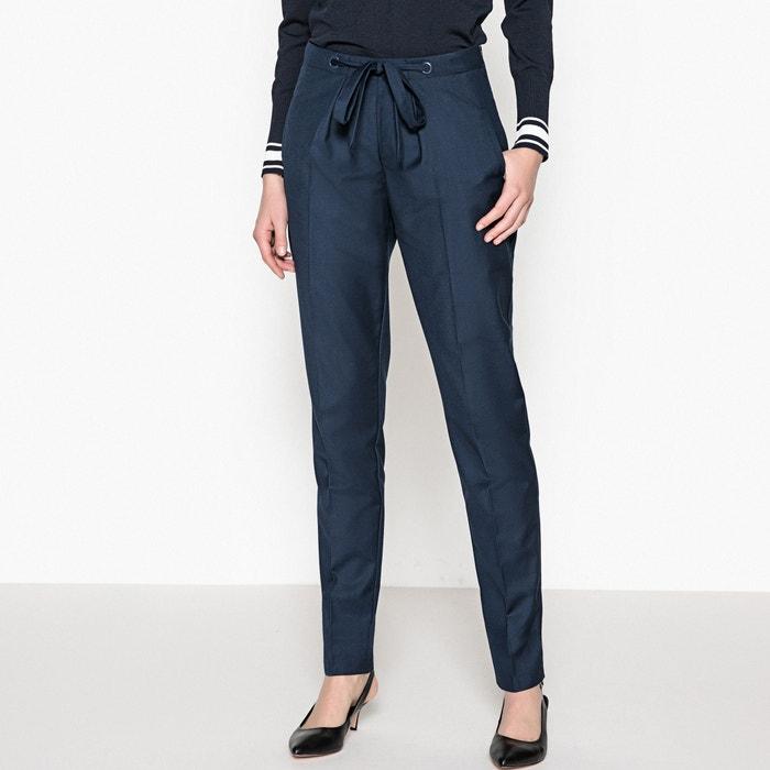 Pantaloni loose laccio da annodare  La Redoute Collections image 0