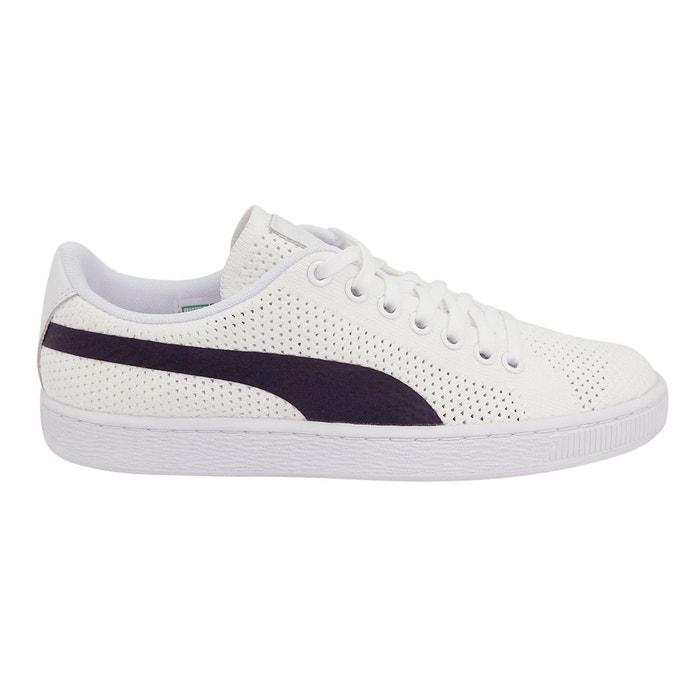 separation shoes 4a536 ba7cc Baskets basses basket classic evoknit blanc Puma   La Redoute