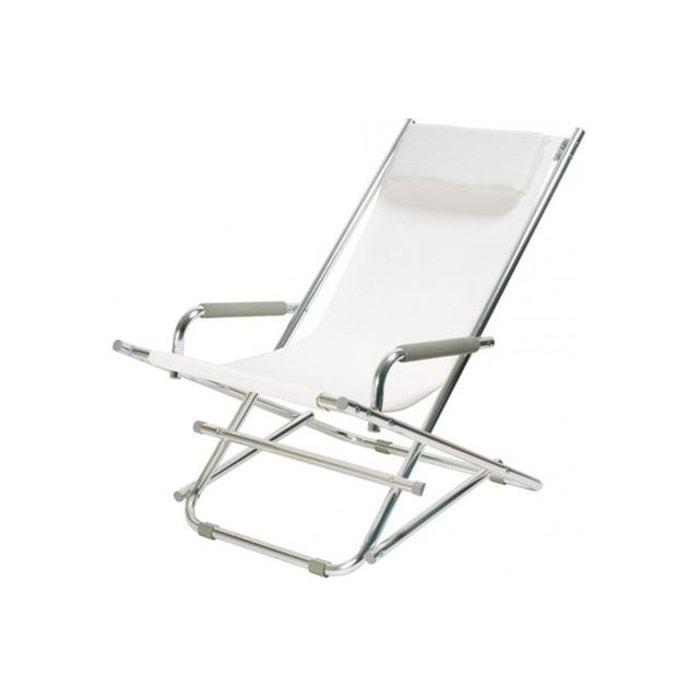 chaise longue la chaise longue blanche ajania blanc la chaise longue la redoute. Black Bedroom Furniture Sets. Home Design Ideas