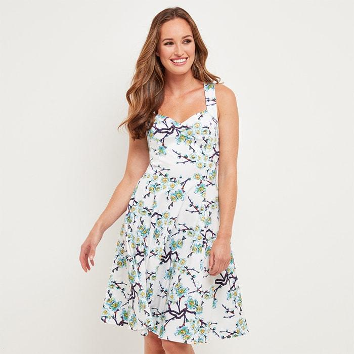 Платье расклешенное с цветочным рисунком  JOE BROWNS image 0