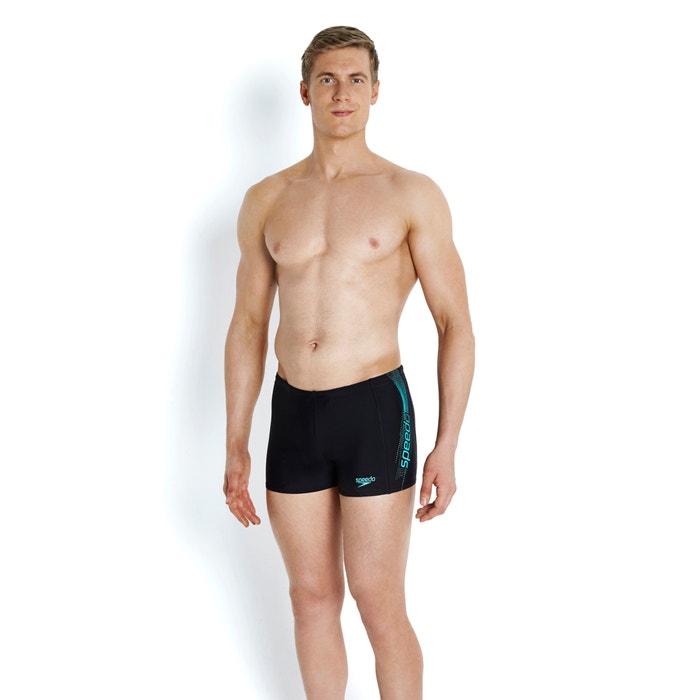 Sports Logo Aquashort Swim Shorts with 10 X Chlorine Resistance