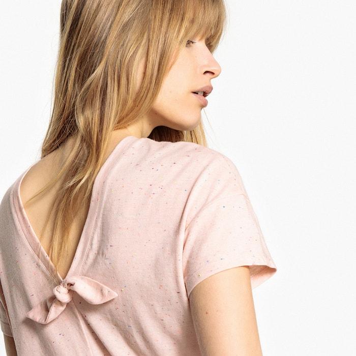 V-Back T-Shirt  MADEMOISELLE R image 0