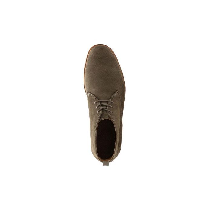 Boots cuir clarkdale bara vert olive Clarks